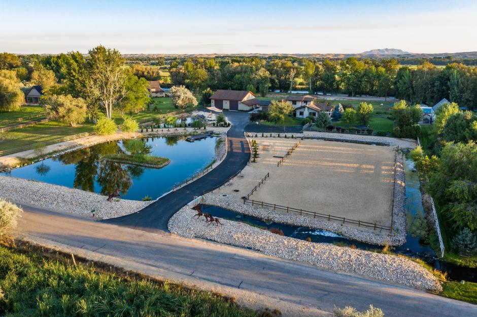 Meridian, Idaho, Pond, Riding Arena, River Frontage, Flood Plain