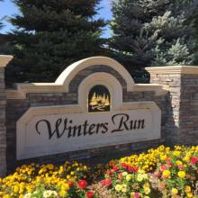 Winters Run Subdivision Civil Engineering Project